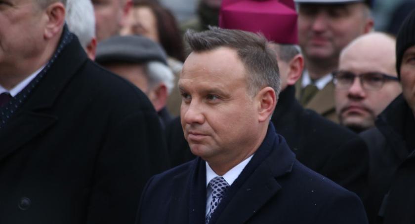 Wiadomości, Prezydent uroczystościach Wysokiem Mazowieckiem - zdjęcie, fotografia