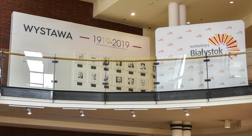 Kultura, Galerii można oglądać wystawę poświęconą leciu niepodległości Białegostoku - zdjęcie, fotografia