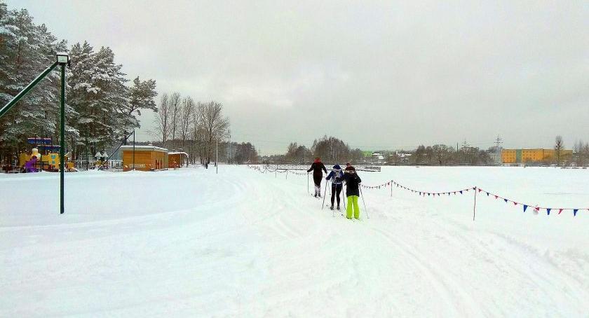 Sport, udany sezon narciarski Dojlidach - zdjęcie, fotografia
