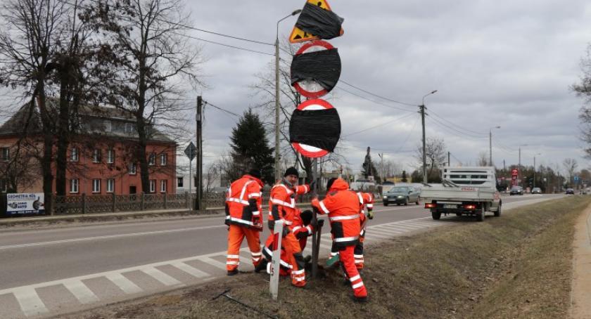 Wiadomości, Mońkach przebudowa odcinka głównej drogi - zdjęcie, fotografia