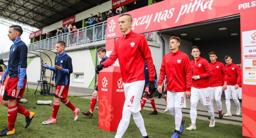 Piłka nożna, Łukasz Bejger młody polski piłkarz który karierę Manchesterze - zdjęcie, fotografia