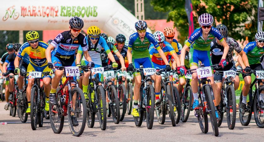 Sport, Tykocina zjadą kolarze którzy wezmą udział Maratonach Kresowych - zdjęcie, fotografia