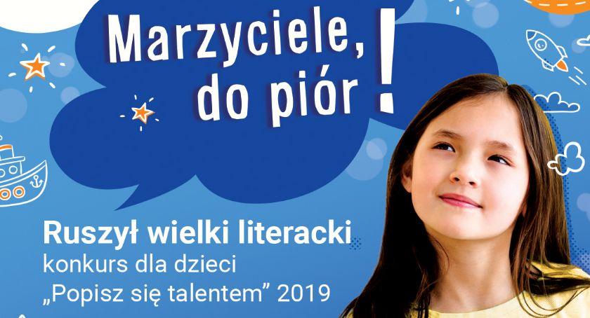 Kultura, Konkurs literacki dzieci Rozpoczął nabór - zdjęcie, fotografia