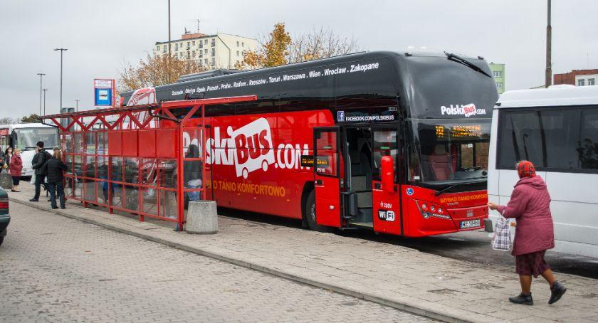Gospodarka, Połączenia autokarowe wracają łask - zdjęcie, fotografia