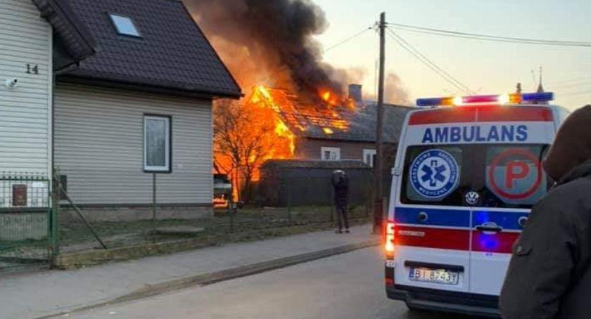 Wiadomości, Pożar gasiło sześć zastępów Teraz trzeba pomóc pogorzelcom - zdjęcie, fotografia