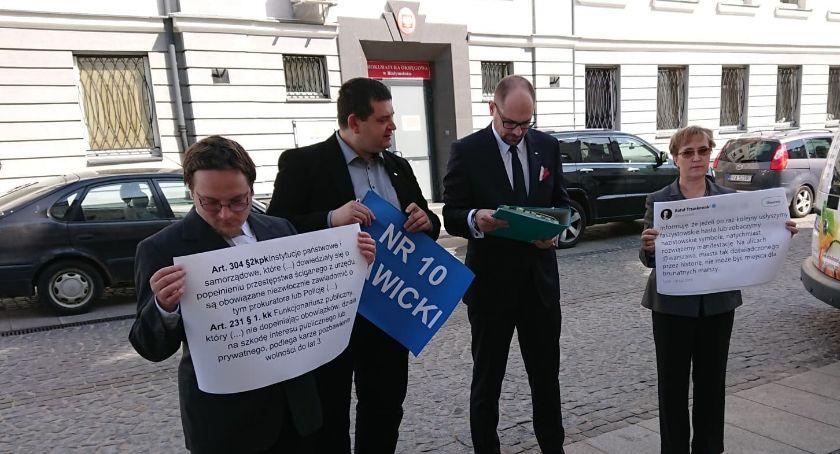Wiadomości, Rafał Trzaskowski będzie tłumaczył przed białostocką Prokuraturą - zdjęcie, fotografia
