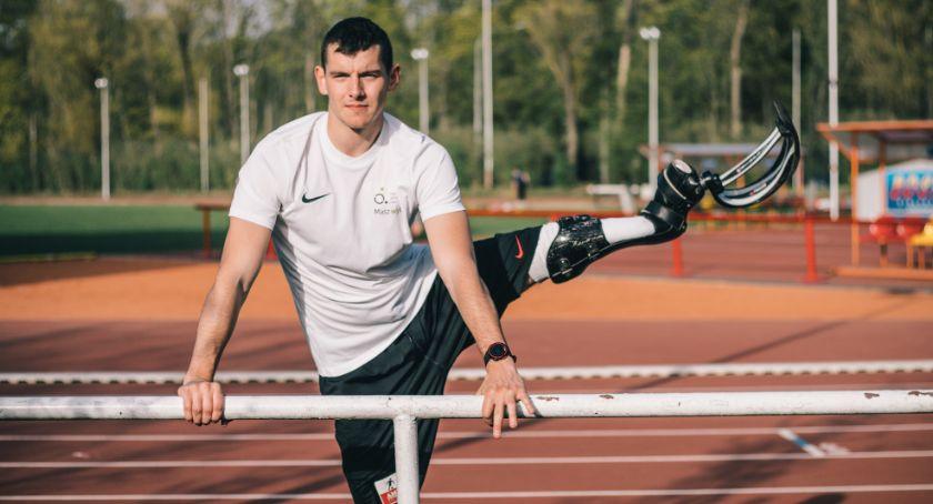 Sport, Dawid protezę pobiegnie Półmaratonie - zdjęcie, fotografia