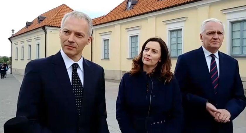 Wiadomości, Poseł ministrem wsparli Justynę Żalek wyborach Parlamentu Europejskiego - zdjęcie, fotografia