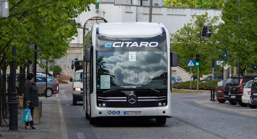 Motoryzacja, Białystok testował kolejny elektryczny autobus - zdjęcie, fotografia