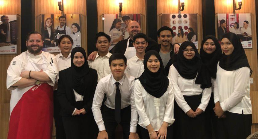 Styl życia, Kulinarny egzotyczny gotował Malezji Sułtanacie Brunei - zdjęcie, fotografia
