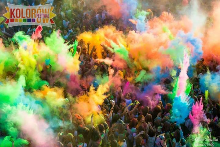 Kultura, Białystok szansę festiwal kolorów - zdjęcie, fotografia