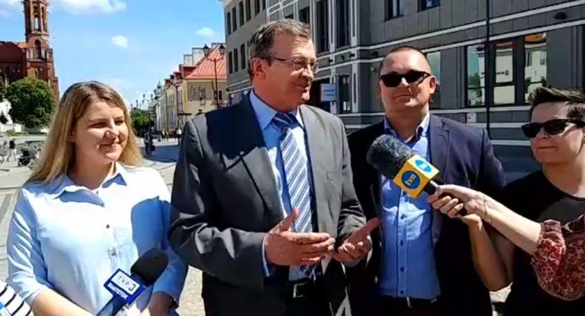 Polityka, Tadeusz Cymański Liczymy więcej jeden mandat - zdjęcie, fotografia