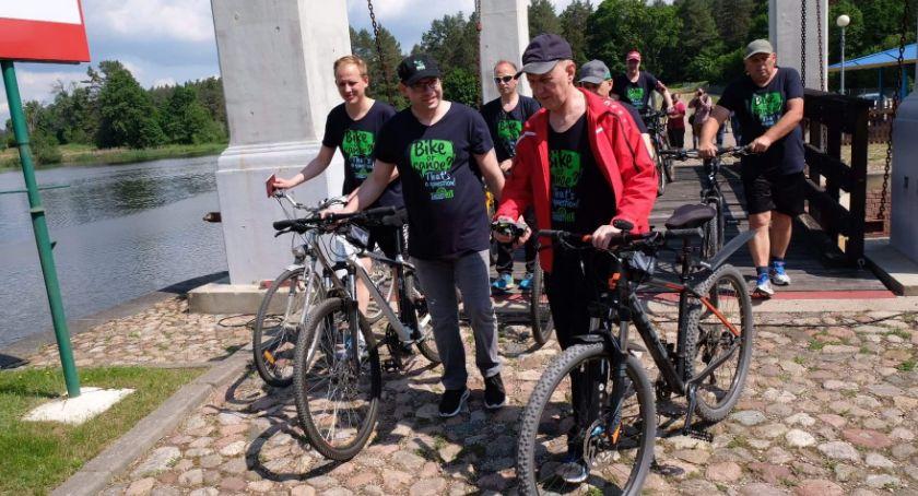 Wiadomości, Rowerem August Szlak oficjalnie otwarty - zdjęcie, fotografia