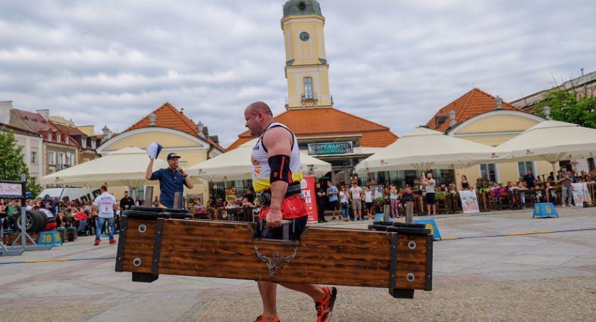 Sport, Rynek Kościuszki będzie miejscem zmagań siłaczy - zdjęcie, fotografia