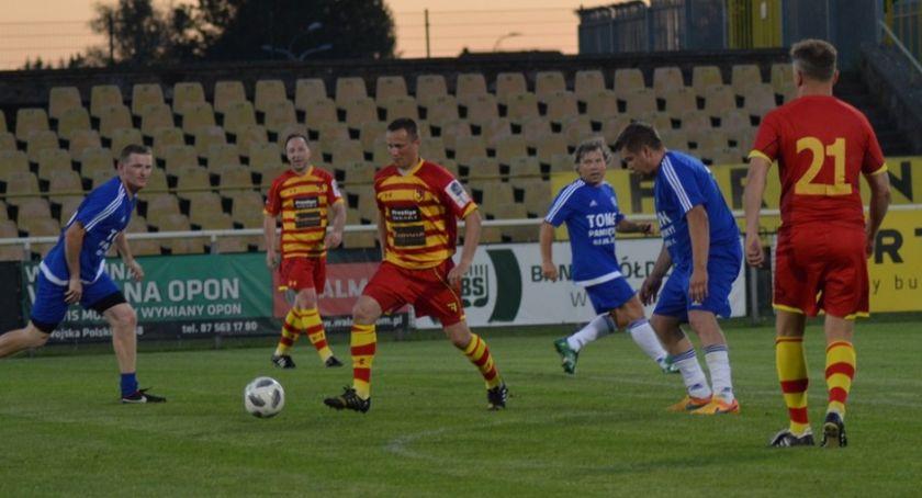 Piłka nożna, Jagiellonia Allstars pojechała Suwałk rozprawiła Wigrami - zdjęcie, fotografia