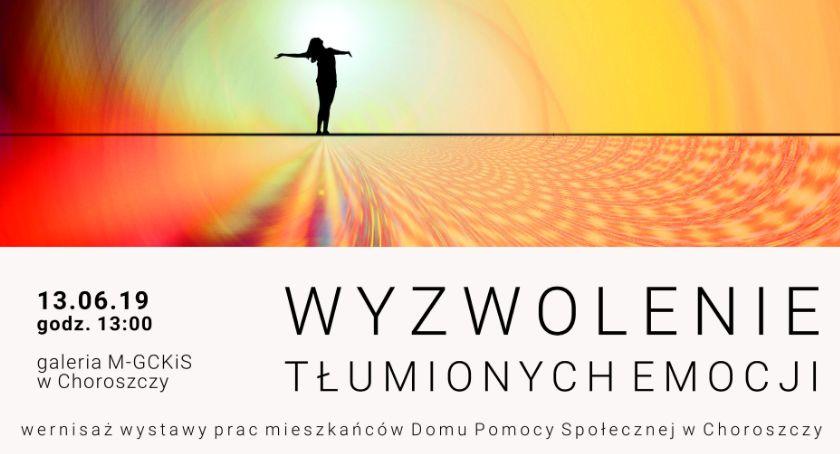 Kultura, Wyzwolenie tłumionych emocji tematem wystawy Choroszczy - zdjęcie, fotografia
