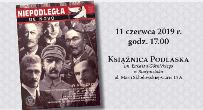 Kultura, Niepodległa Książnicy Podlaskiej - zdjęcie, fotografia