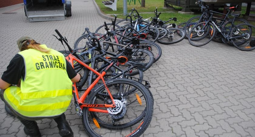 Wiadomości, Pogranicznicy odzyskali skradzionych Danii rowerów - zdjęcie, fotografia