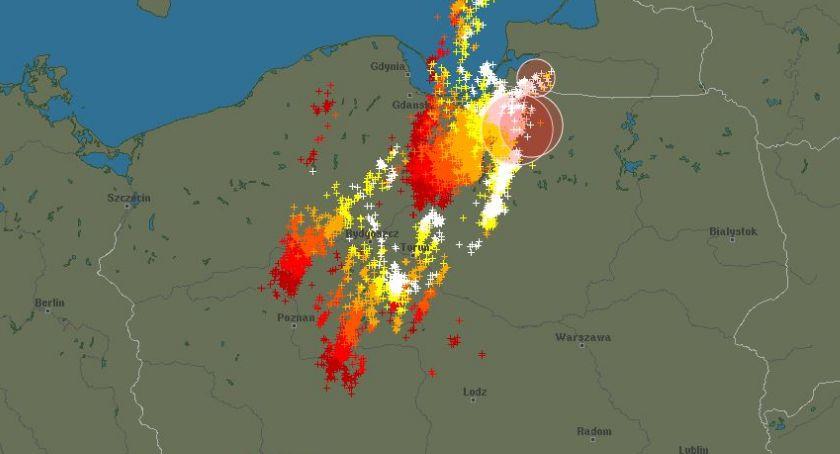 Wiadomości, Podlasie nadciąga potężna chmura burzowa Będzie groźnie! - zdjęcie, fotografia
