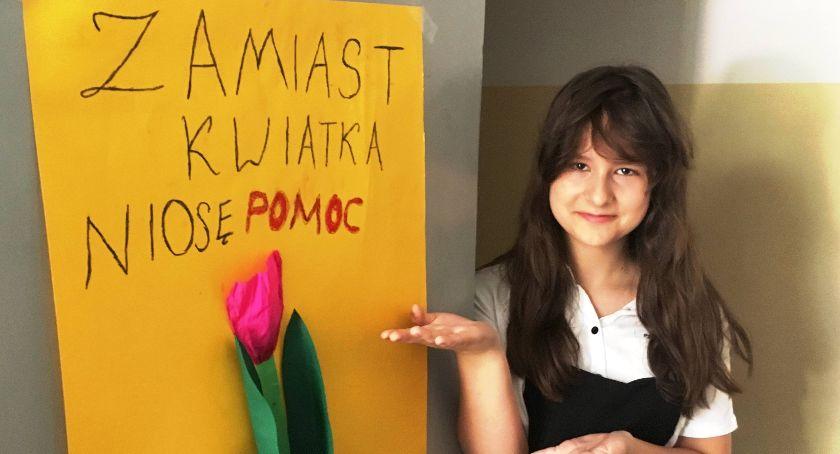 Styl życia, Pomoc zamiast kwiatka koniec szkolnego - zdjęcie, fotografia