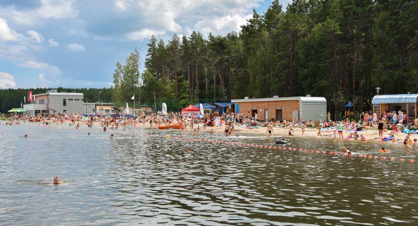 Wiadomości, Koniec zakazu Plaża Dojlidy znów otwarta amatorów pływania - zdjęcie, fotografia