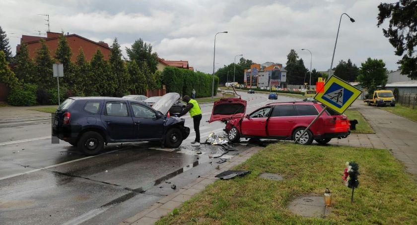 KOLIZJA 24, chyba wypadku zginął - zdjęcie, fotografia