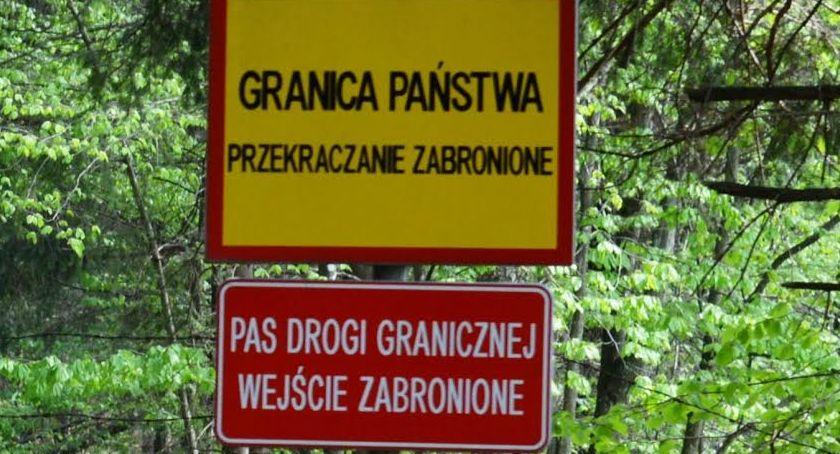 """Wiadomości, Dwóch Irańczyków próbowało dostać Polski przez """"zieloną granicę"""" - zdjęcie, fotografia"""