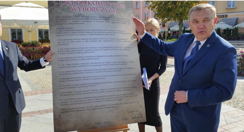 Polityka, Ostra krytyka internautów Tadeusz Truskolaski ostatnio dobrej passy - zdjęcie, fotografia