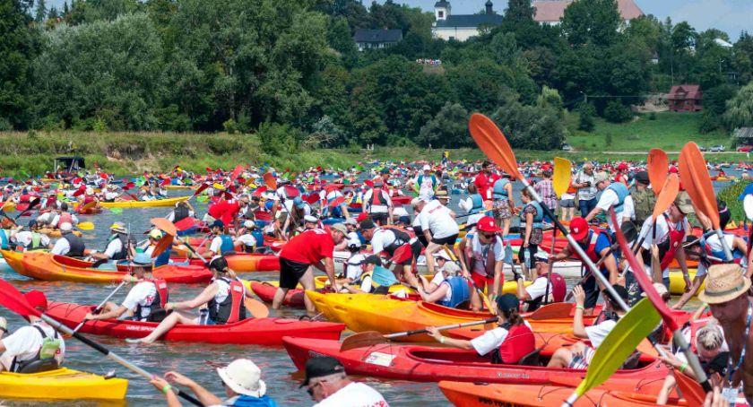 Sport, Trwają przygotowania największego spływu kajakowego Polsce - zdjęcie, fotografia
