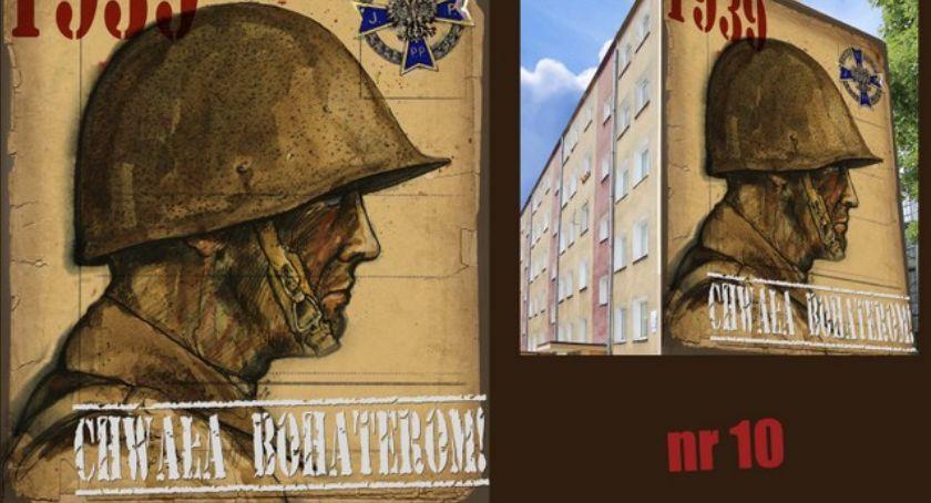 Wiadomości, Łomży będzie zrealizowany mural upamiętniający Żołnierzy Wyklętych - zdjęcie, fotografia