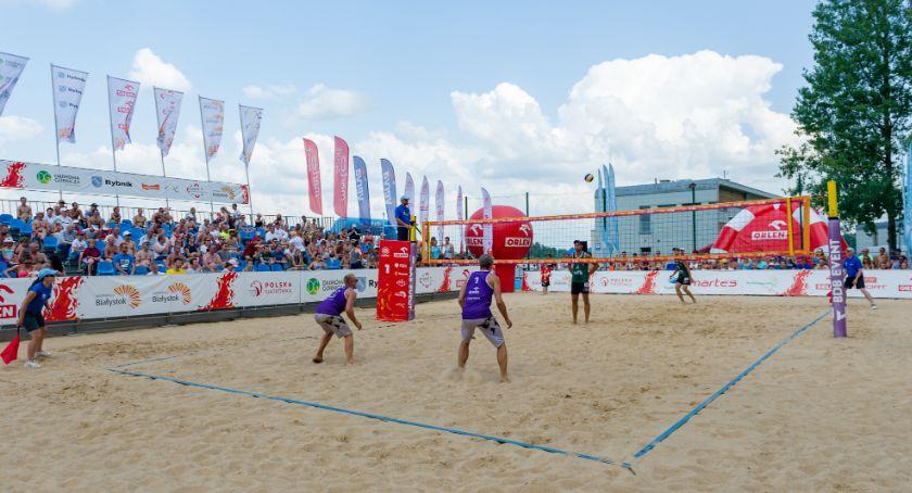 Sport, dziś plaży miejskiej startuje turniej Plaża - zdjęcie, fotografia