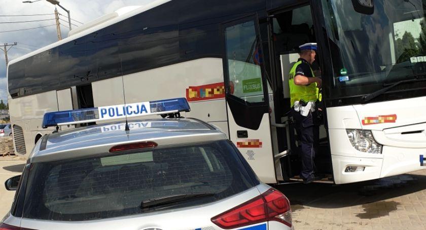 Motoryzacja, Pijany wiózł autobusem grupę pielgrzymów Białegostoku - zdjęcie, fotografia