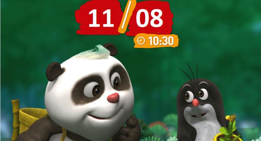 Kultura, Krecik Panda filmowych porankach Helios bilety! - zdjęcie, fotografia