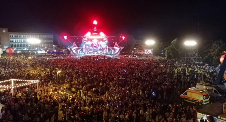 Kultura, koncertowy pękł szwach - zdjęcie, fotografia