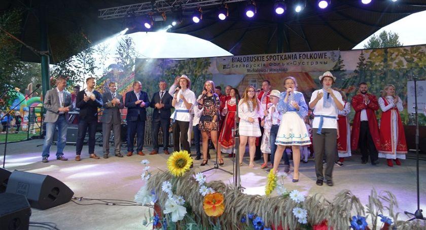 Kultura, były udane białoruskie spotkania folkowe - zdjęcie, fotografia