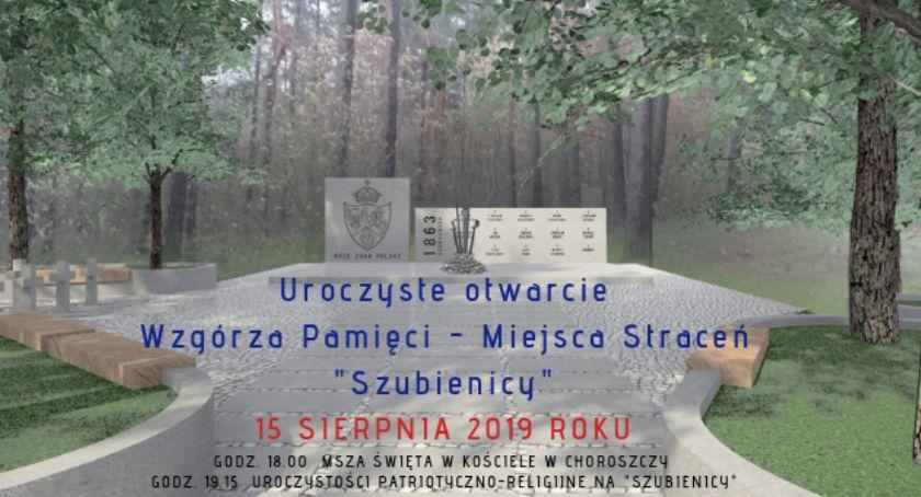 Wiadomości, rocznicę Wisłą Choroszczy otwarte zostanie Wzgórze Pamieci - zdjęcie, fotografia
