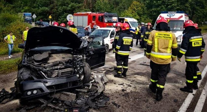 Motoryzacja, Śmiertelny wypadek Ploskami - zdjęcie, fotografia