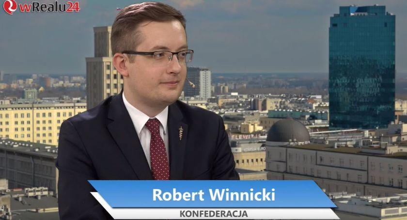 Polityka, Robert Winnicki jedynką Sejmu podlaskiej listy Konfederacji - zdjęcie, fotografia