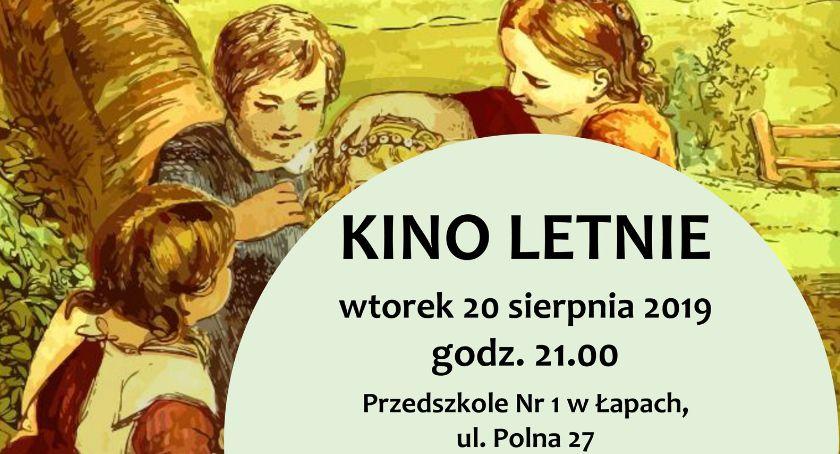 Kultura, letnie placówce przedszkolnej Łapach - zdjęcie, fotografia
