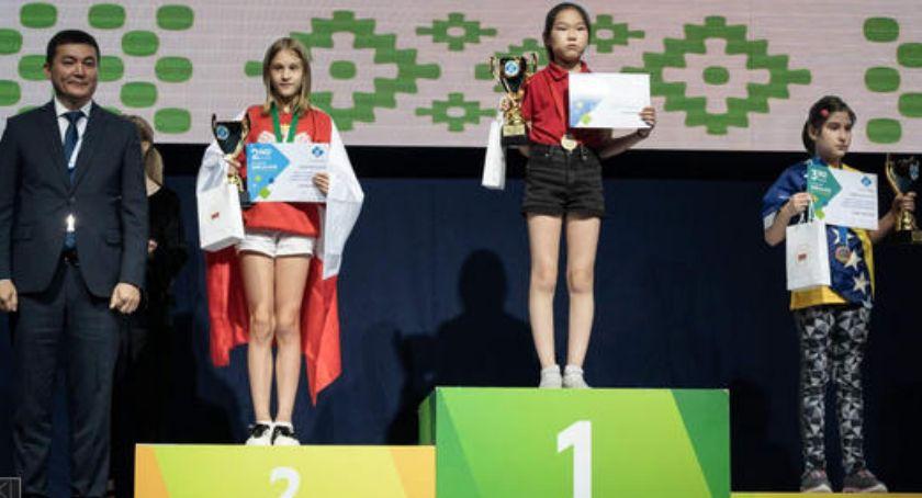 Sport, Klara Szczotka wicemistrzynią świata szachach błyskawicznych - zdjęcie, fotografia