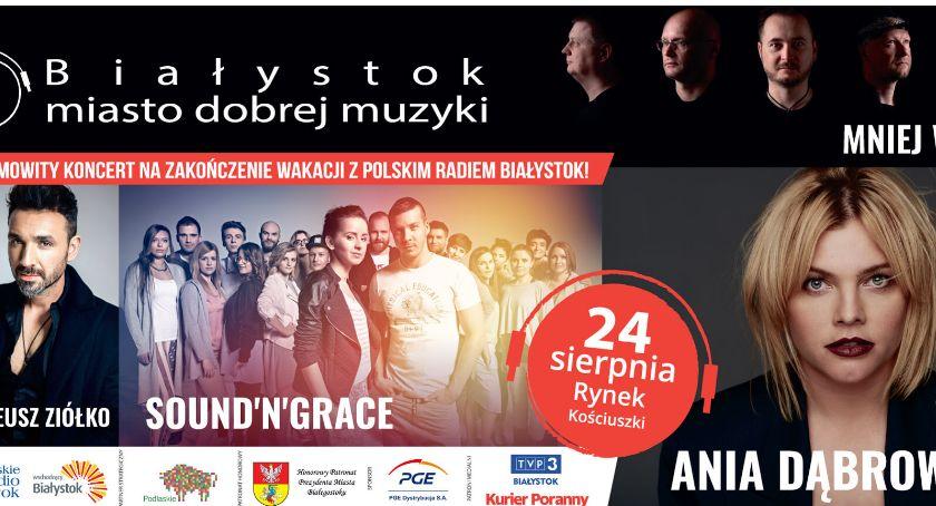 """Kultura, pożegnanie koncert """"Miasto Dobrej Muzyki"""" - zdjęcie, fotografia"""