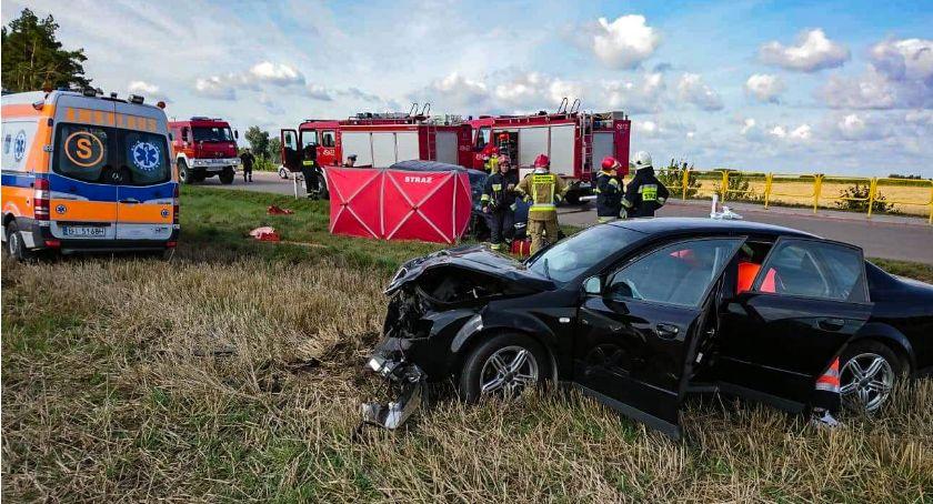 KOLIZJA 24, Zginął kierowca Citroena Najprawdopodobniej ustąpił pierwszeństwa przejazdu - zdjęcie, fotografia