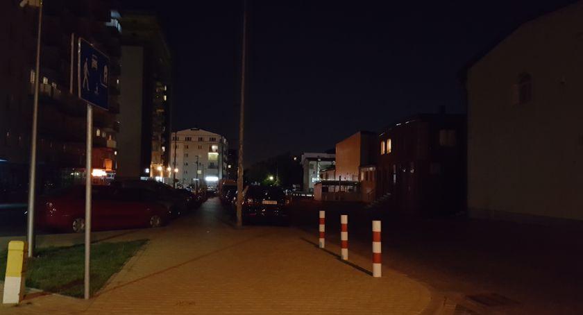 Wiadomości, Egipskie ciemności centrum Białegostoku - zdjęcie, fotografia