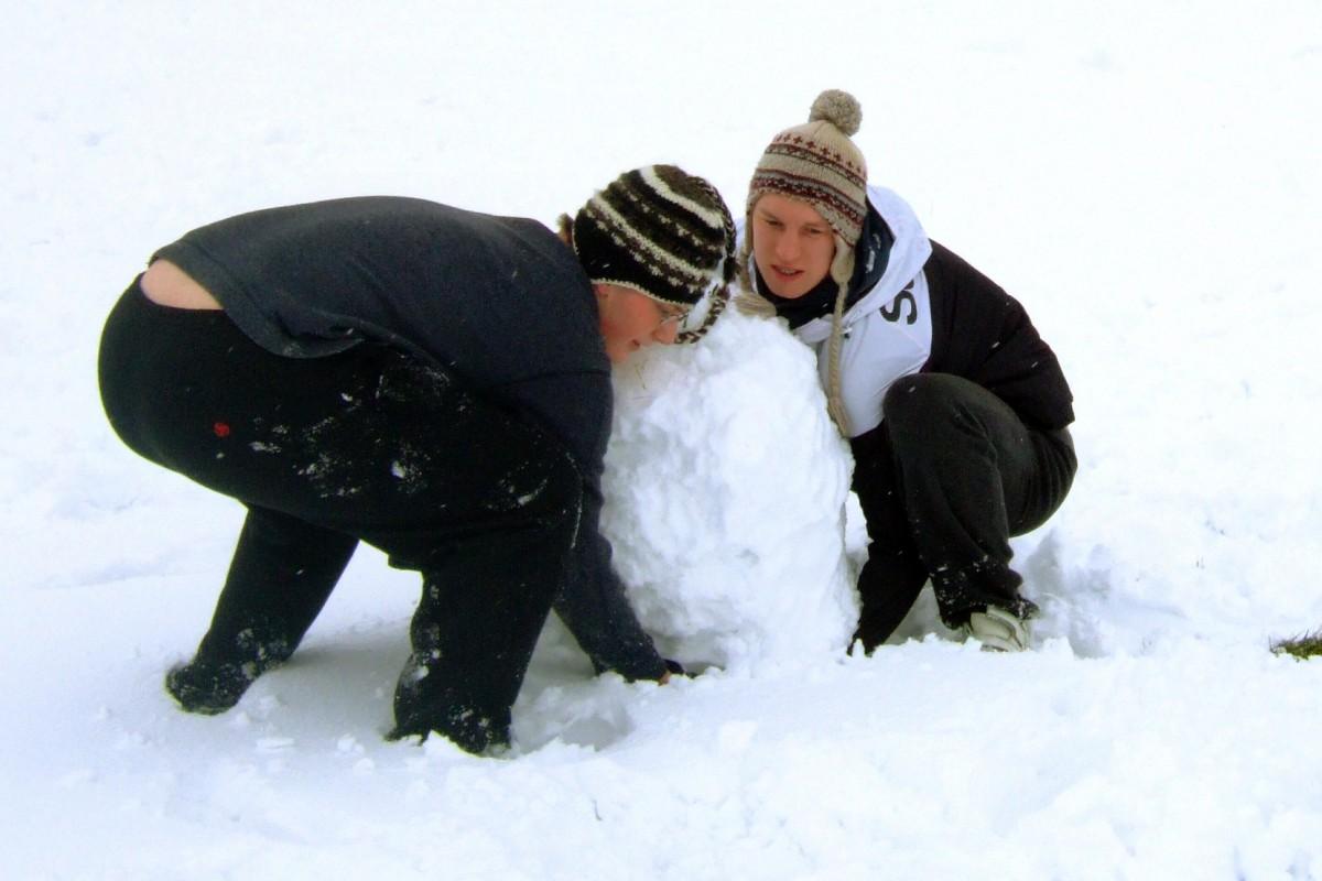 Kultura, Zimowe ferie mieście - zdjęcie, fotografia