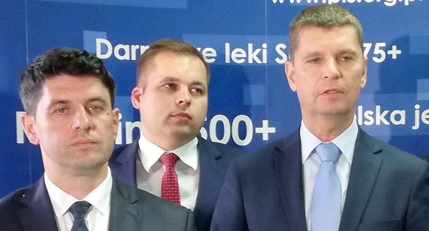 Polityka, Piontkowski uderza Dobrzyńskiego rozbić prawicę Dobrzyński - zdjęcie, fotografia