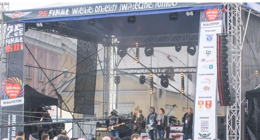 Wiadomości, Stało będzie sceny WOŚP Rynku Kościuszki - zdjęcie, fotografia