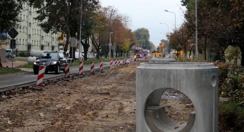Motoryzacja, Utrudnienia Łomży Ulica będzie zamknięta ponad miesiąc - zdjęcie, fotografia