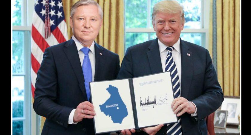 Polityka, Amerykański Senator Podlasia - zdjęcie, fotografia