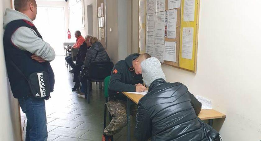 Wiadomości, Utrudnienia wydziale komunikacji starostwa powiatowego remont - zdjęcie, fotografia