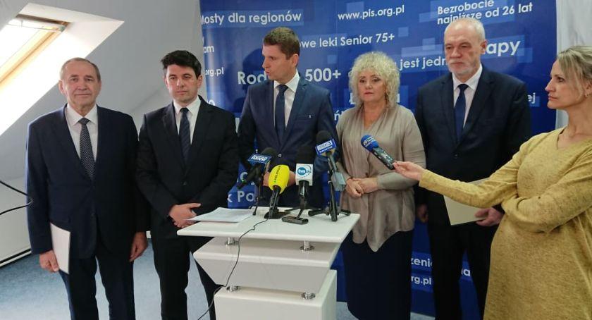 Polityka, Wicemarszałek Senatu Warto głosować kandydatów wiarygodni - zdjęcie, fotografia